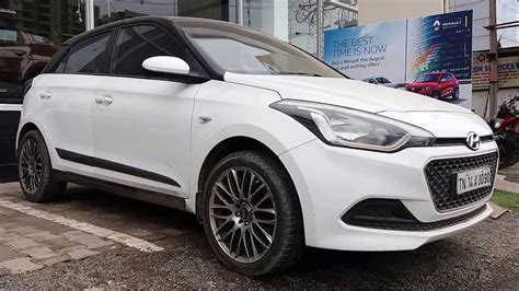 Hyundai I20 Modification by Hyundai I20 Modification Alloy And Spoiler
