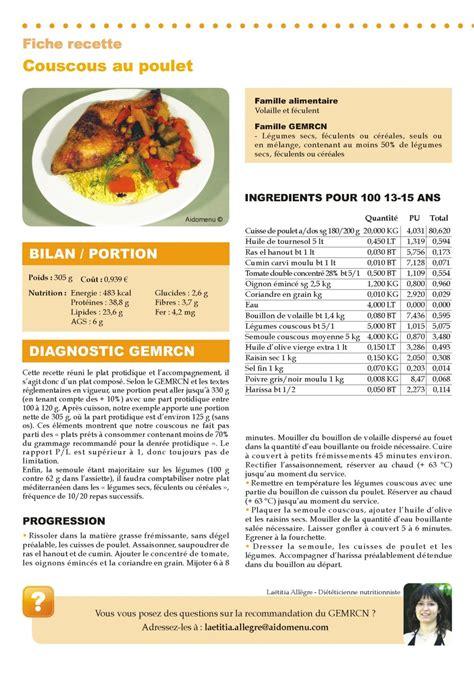 fiche recette cuisine fiche cuisine 28 images ophrey modele fiche de cuisine