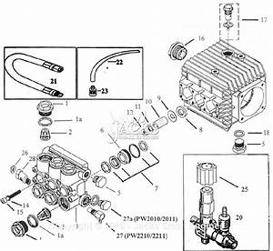 Campbell Hausfeld Pw2011 Parts Diagram For Pump Parts