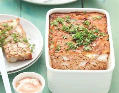 cuisine lotte recette terrine de poisson à la tomate