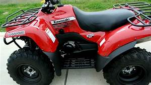 2012 Kawasaki Prairie 360 4x4 Aztec Red Overview And