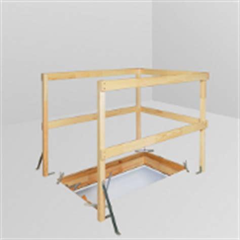 zoldertrap hek accessoires pour escaliers escamotables fakro