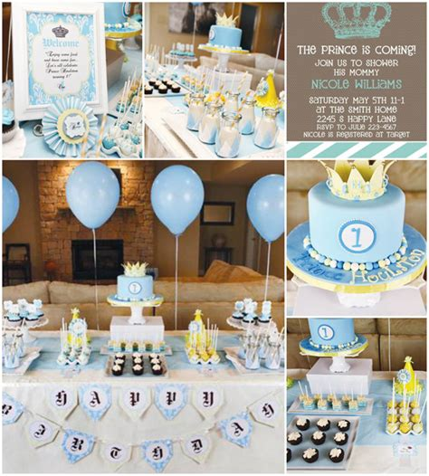 baby shower prince theme top 5 baby shower themes ideas for boy baby shower