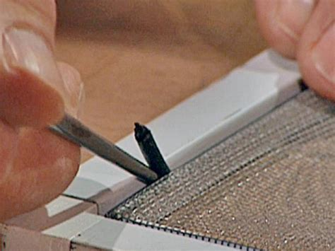 How to Replace Screen Material   how tos   DIY