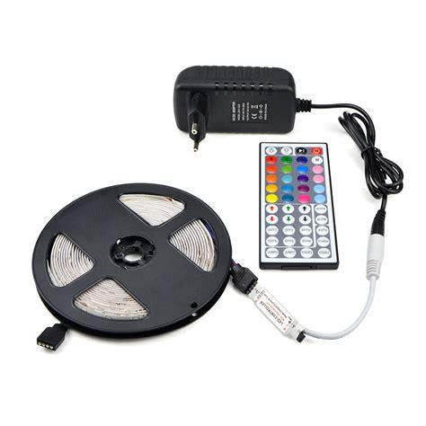 indoor 3528 smd led strip 5m ip20 ip65 waterproof rgb led strip light dc 12v 2835