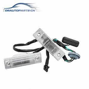 Trunk Pop Switch Trunk Release Licence Plate Light For
