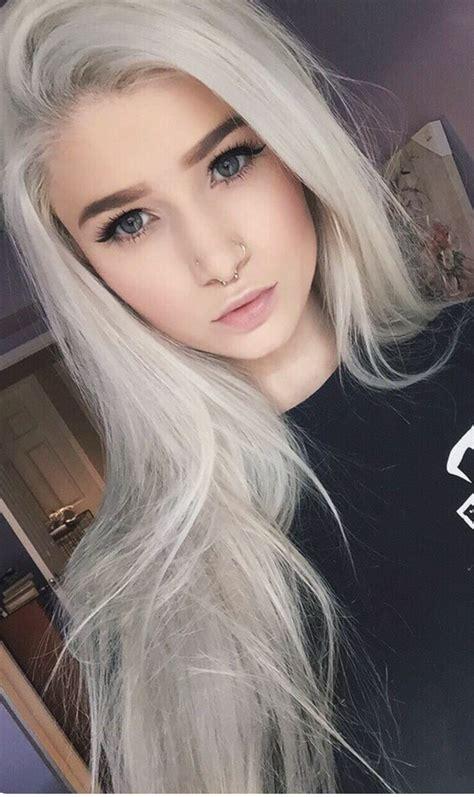 silber blond haare wie bekomme ich meine haar so silber hab mir jetzt schon