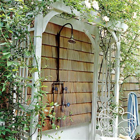 wide options  outdoor shower fixture homesfeed