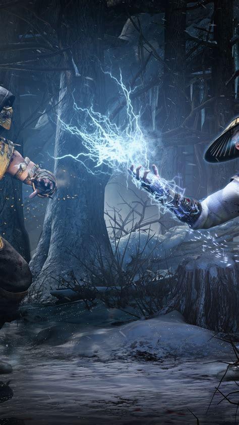 wallpaper mortal kombat  game fighting scorpion