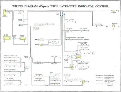 Morri Minor Wiring Diagram by Alternator Conversion And Box Modified Minors
