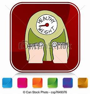 Standing Weight Scale Clipart (67+)