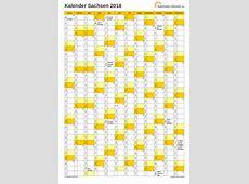 Feiertage 2018 Sachsen + Kalender