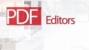 top 5 pdf editor softwares free download for windows 7 81 With pdf document editor free download
