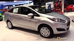 Ford Fiesta 2015 : 2015 ford fiesta sedan exterior and interior walkaround 2015 chicago auto show youtube ~ Medecine-chirurgie-esthetiques.com Avis de Voitures