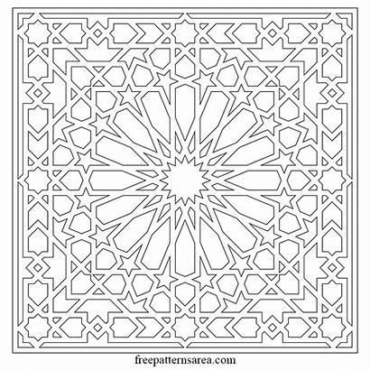 Islamic Geometric Pattern Vector Arabesque Patterns Arabic