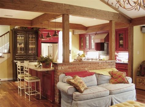 perfect red country kitchen cabinet design ideas for red country kitchen farmhouse kitchen houston by