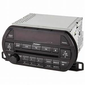 2002 Nissan Altima Radio Or Cd Player Parts From Car Parts