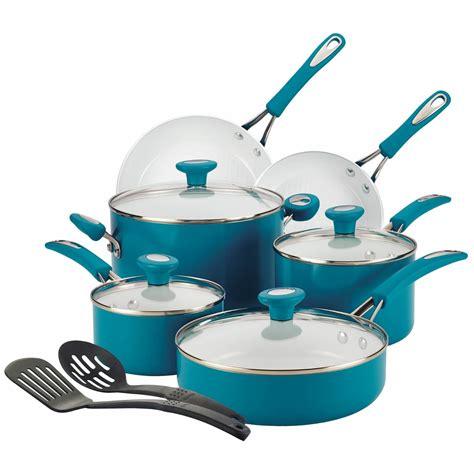 silverstone ceramic cxi nonstick  piece cookware set review