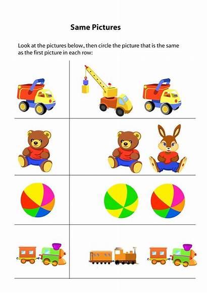 Same Different Worksheets Activities Preschool Worksheet Activity