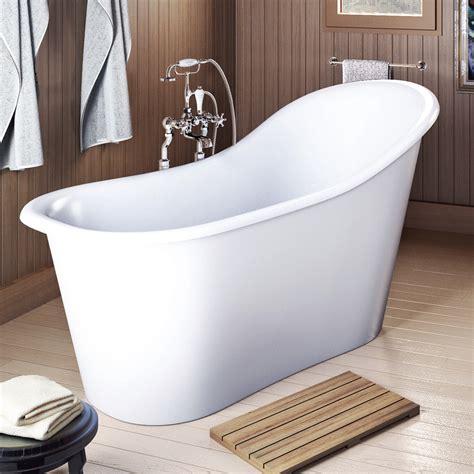 48 freestanding tub americh international emperor freestanding bathtub white