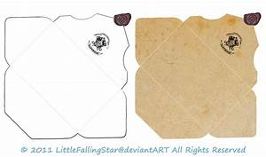 Hogwarts Envelope by LittleFallingStar on DeviantArt