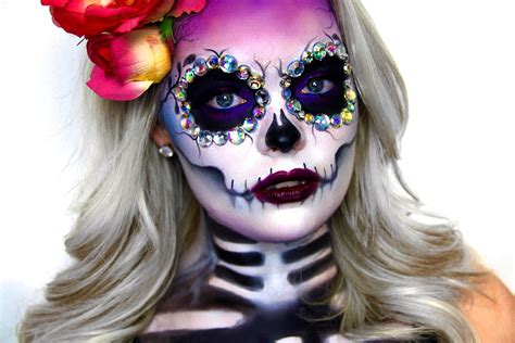 Ideas Para Maquillarse Como La Catrina O Calavera Mexicana, Sugar Skull
