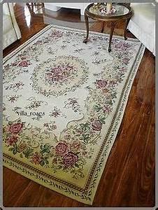 Teppich Shabby Chic : romantischer teppich rosen shabby chic vintage landhaus rund 200 cm shabby interior ~ Buech-reservation.com Haus und Dekorationen