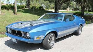 1973 Ford Mustang Mach 1 Fastback | F133 | Dallas 2017