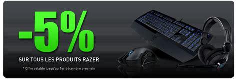 10631 Razer Blade Promo Code by Promotion Sur Les Produits Razer Portables4gamers