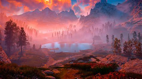 horizon  dawn game nature hd games  wallpapers