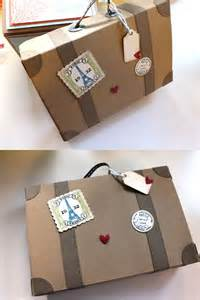 hochzeitsgeschenk reise die 25 besten ideen zu koffer basteln auf koffer klein ohrringe pandora und