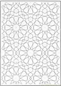 Free coloring pages of snowflake patterns