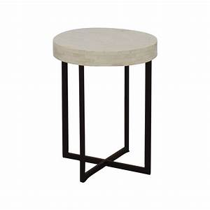 78 off west elm west elm bone side table tables With west elm bone coffee table