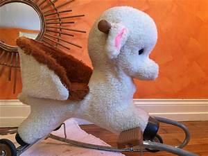 Mouton à Bascule : mouton bascule sur roulette des ann es 50 60 do r mi r tro ~ Teatrodelosmanantiales.com Idées de Décoration