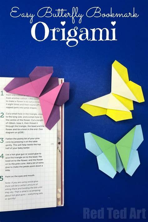 origami butterfly bookmark corner origami bookmark