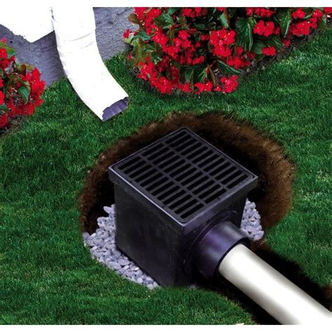 Catch Basin In Backyard 12 quot catch basin kit cathie s porch yard drainage