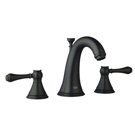 Rubbed Bronze Faucets For Bathroom by Grohe Seabury 8 In Widespread 2 Handle Low Arc Bathroom
