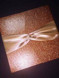 rose gold glitter and foil wedding invitation classic With evening wedding invitations rose gold