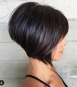 Carré Très Plongeant : coupe carr 20 coiffures pour porter le carr avec style ~ Nature-et-papiers.com Idées de Décoration