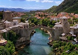 Over the Frontline: The Other Face of Mostar, Bosnia ...