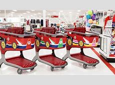 Target swaps its shopping carts for Mario Karts Roadshow