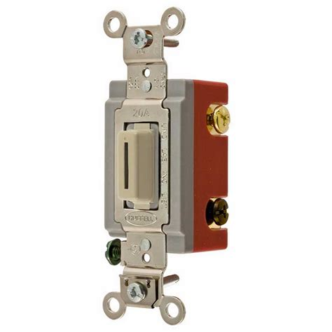 hubbell light switch hubbell wiring hbl 174 hbl1223li heavy duty standard