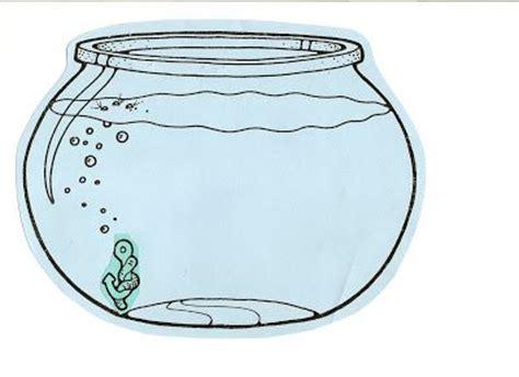 fishbowl clipart empty fish bowl coloring sheet image clipartix