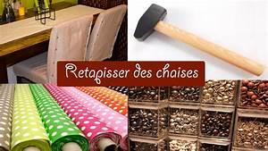 Relooker Des Chaises : diy comment relooker des chaises niveau facile youtube ~ Melissatoandfro.com Idées de Décoration