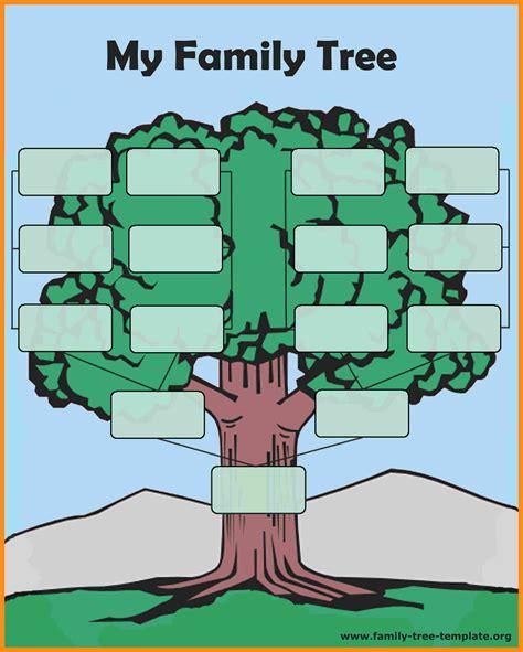 Free Family Tree Template Template Family Tree Template