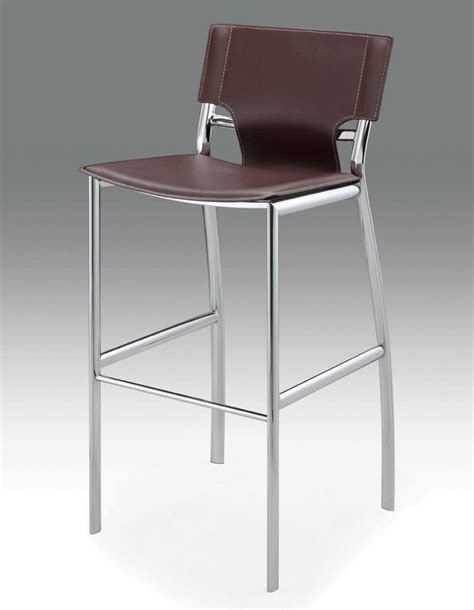 contemporary kitchen cabinets brown leather bar stool bar stools 2468