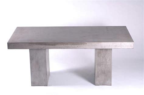 83 quot l dining table desk solid concrete cement modern