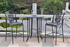 Patio Furniture Pub Table Sets by Bistro Set The Garden And Patio Home Guide