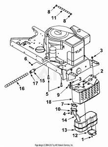 Mtd 13ah660f352  2002  Parts Diagram For Engine