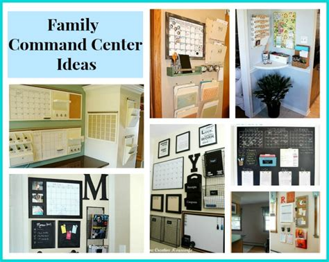 Ideas Center by Awesome Diy Family Command Centers